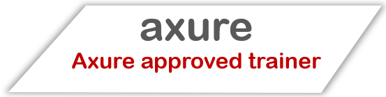 Badge Axure Approved Trainer